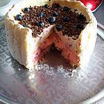 recette Charlotte crème tiramisu aux fruits des bois
