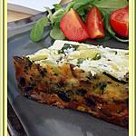 recette Terrine de courgettes aux pignons