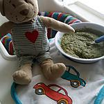recette Purée bébé saumon épinard