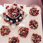 recette Salade de tomate cerise pignons anchois