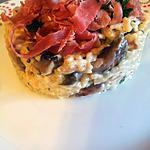 recette Risotto aux champignons et jambon serrano