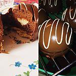 recette Dôme Chocolat/pomme