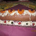 recette Biscuit roulé coco-abrico
