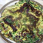 recette Omelette à la ciboulette.