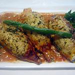 recette Calamars farcis. gratinés au four.