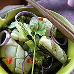 recette Blancs de seiches au Curry vert thaï