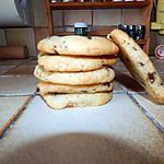 recette Cookies très moelleux!
