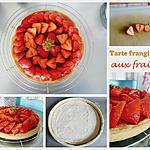 recette Tarte frangipane aux fraises