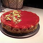 recette Bavarois fraise pistaches
