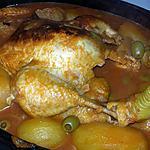recette Poulet en sauce