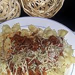 recette Sauce bolognaise épicée de Papa