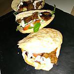 recette Kebab maison dans le pain