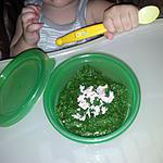 recette Purée verte au jambon*Pour Bébé*