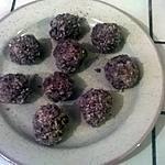 recette Rocher à la  noix de coco et cacao