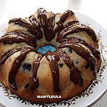 recette Gâteau pommes/bananes/chocolat