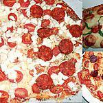 recette UN AUTRE PETIT DUO DE PIZZA