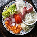 recette Salade fraîcheur et équilibre N°1