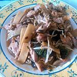 recette chop suey de poulet