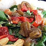 recette Salade au poivrons marinées