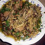 recette Manchons de canard au gingembre
