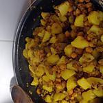 recette Pomme de terre à l indienne