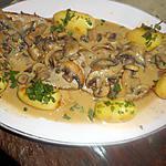 recette Escalope de veau à la creme