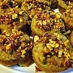 recette Cupcakes à la courgette, au citron vert et aux pistaches