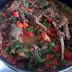 recette sanglier tomates et poivrons a ma façon