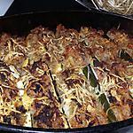 recette Courgettes farci au riz et a la viande haché