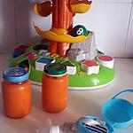 recette Purée bébé carotte polenta maison