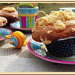 recette Muffins au Nutella façon crumble