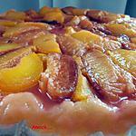 recette tarte tatin aux deux prunes