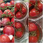 recette Stérilisation de tomates confites
