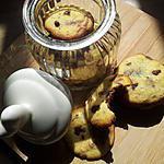 recette Cookies aux pépites de chocolat et son coeur coulant au nutella