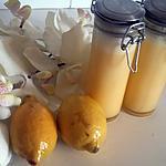 recette Lemon curd au micro onde