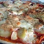 recette Pizzas façon raclette