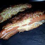 recette Sandwich de croissant façon *hot dog*