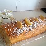 recette Roulé au citron mascarpone