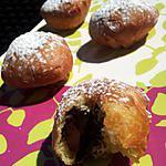 recette Beignets fourrés au carambar