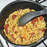 recette flageolet au chorizzo