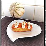 recette éclairs à la mousse de melon