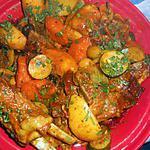 recette Tajine d agneau aux olives violettes et citrons confits(version 2)