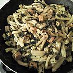 recette pâte au saumon et épinard