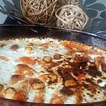 recette Gratin de quenelles de semoule a la ricotta
