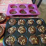 recette gateaux chocolat et noisettes noix caramélisées,  idée vue sur le net mais   plus le nom:!!!