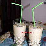 recette Smoothie Bananes/pêches