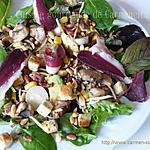 recette Salade fraîcheur croquante
