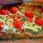 recette Tarte au roquefort et aux tomates cerises