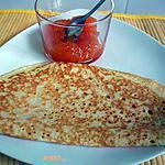 recette crêpes avec levure
