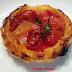 recette Mini tartelettes / tatin de tomates cerises